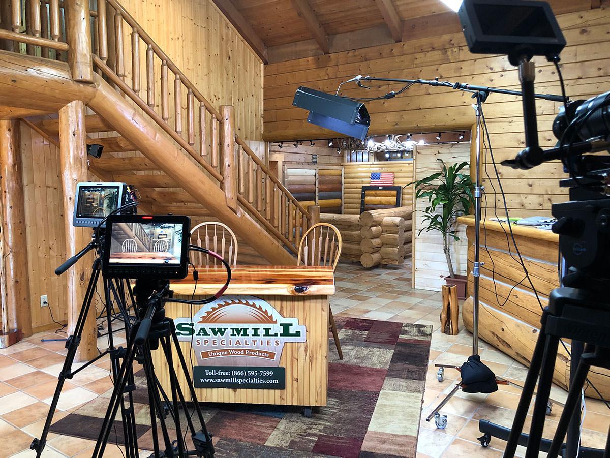 Danny Grizzle Studio - Camera View