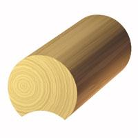 10-inch Swedish Coped Log