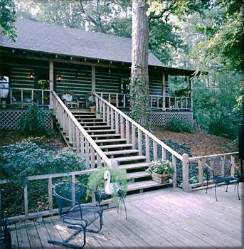 Satterwhite Log Homes The Caddo W Loft Photos