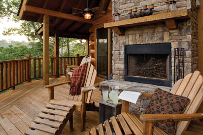 outdoor deck fireplaces.  Outdoor Covered Deck With Fireplace Satterwhite Log Homes The Creekside Photos deck fireplaces