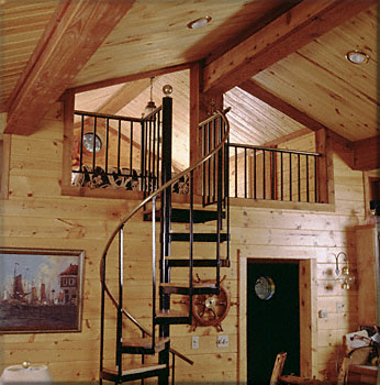 Satterwhite Log Homes Custom Haggards Photos