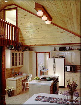 Satterwhite Log Homes The Texan W Loft Photos